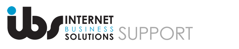 Internet Business Solutions Support